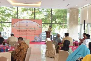 Hari Pertama Beraktifitas Manajemen Bank Riau Kepri Gelar Halal bi Halal