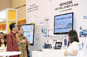 Jokowi Minta Pelaku E-Commerce Kejar Ketertinggalan