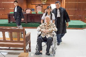 Hakim Tolak Nota Keberatan Hasan Wijaya